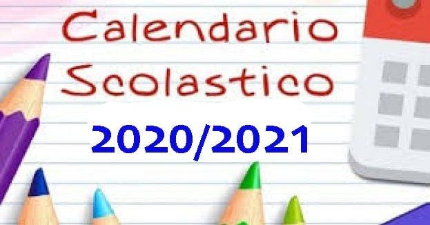 Calendario Scolastico a.s. 2020/2021 (rettifica)