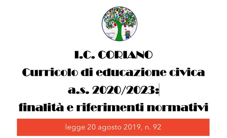 Curricolo di Educazione Civica aa.ss.2020/2023