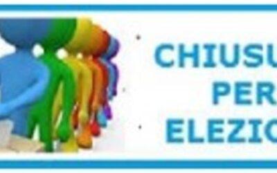Sospensione attività didattiche per Consultazioni elettorali 2021 Comune di Montescudo – Monte Colombo