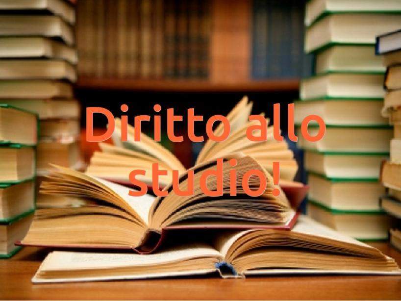 Diritto allo Studio – Riapertura termini presentazione domanda, periodo Settembre/Dicembre 2020