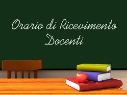 Ricevimento settimanale dei docenti a.s. 2019/2020