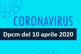 DPCM 10 aprile 2020