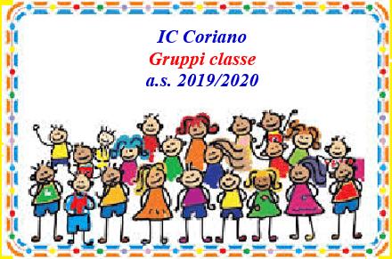 Elenchi dei gruppi classe degli alunni delle classi prime
