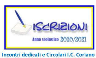 Iscrizioni a.s. 2020/21: Incontri dedicati e Circolari di riferimento I.C. Coriano