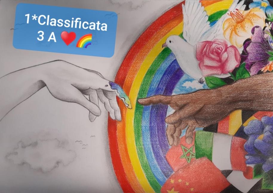 """""""Un poster per la pace"""". Concorso organizzato dal Lions Club Rimini."""