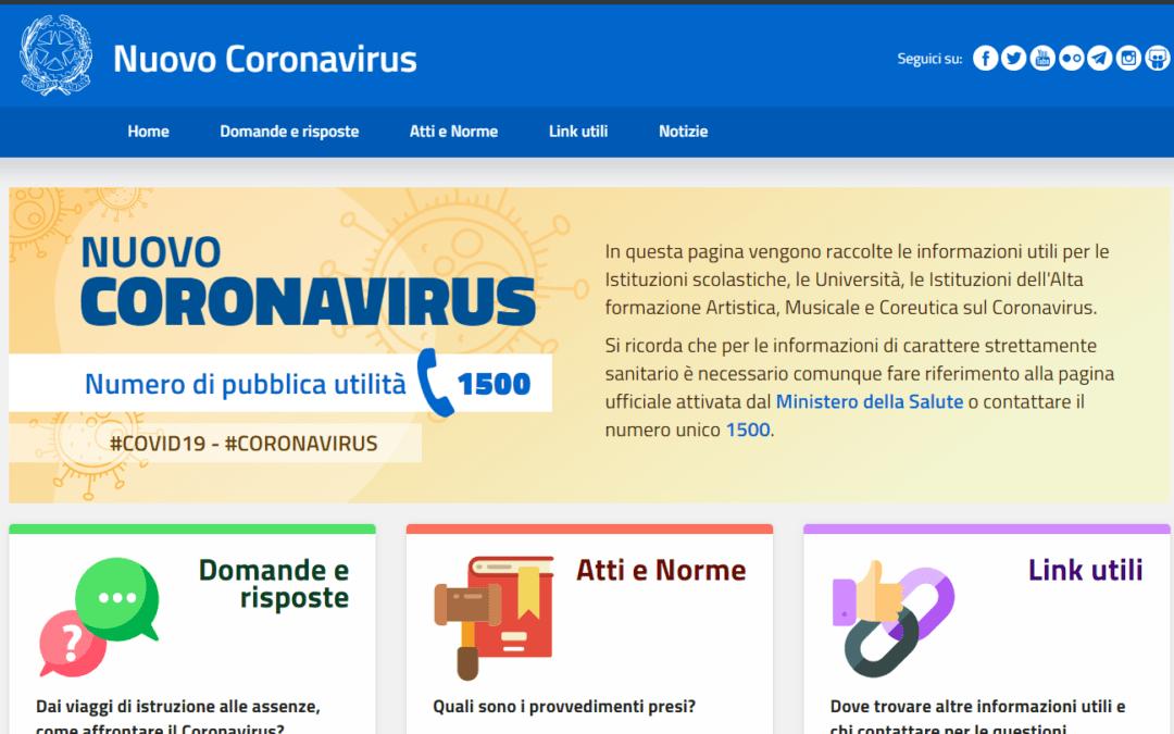 Coronavirus: anno scolastico è valido