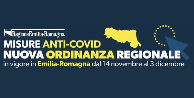 Ordinanza Regionale dell'Emilia Romagna del 12 novembre 2020