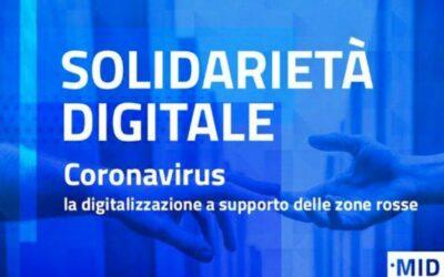Solidarietà digitale: la digitalizzazione a supporto di cittadini e imprese